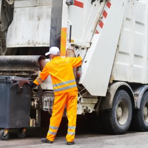 Odvoz odpadu počas sviatkov