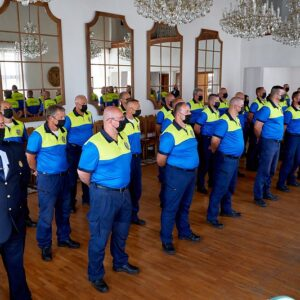 oceňovanie príslušníkov Mestskej polície Žilina
