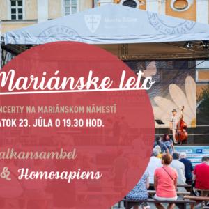 Mariánske leto - Balkansambel, Homosapiens