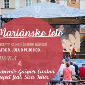 Mariánske leto - DORA, Ľubomír Gašpar Cimbal project feat. Sisa Fehér