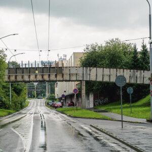 Most pre peších na Obchodnej ulici - 1