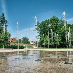 Fontána v Parku Ľudovíta Štúra