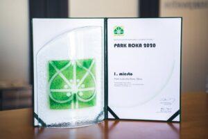 Ocenenie - Park roka 2020